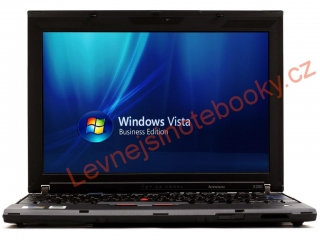 Thinkpad X200 / 2,4GHz / 2GB / 250GB HDD / WIN VISTA / NOVÁ BATERIE
